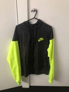 Nike yellow windbreaker