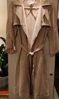 Blush trenchcoat H&M