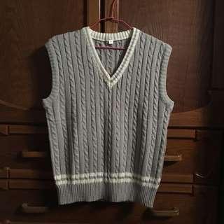 🚚 麻花針織毛衣背心