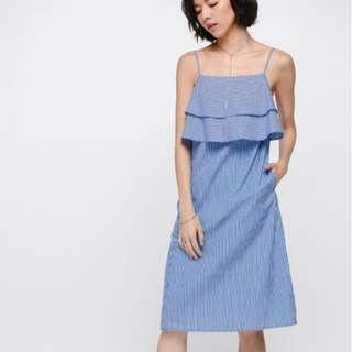 Love Bonito Shorina Midi Ruffle Dress