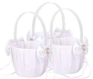 Flower Girl Basket / Wedding Flower Basket / Wedding March in