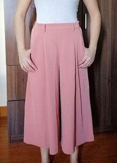 Uniqlo Old Rose Pink Cullotes