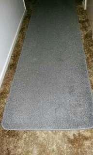 Hallway runner & floor mat