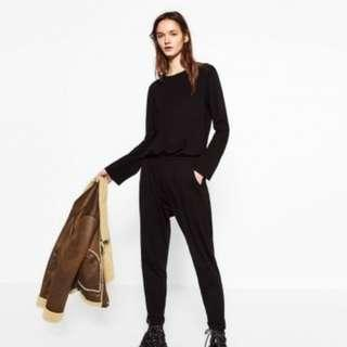 Jumpsuit - Zara - Black - Size S