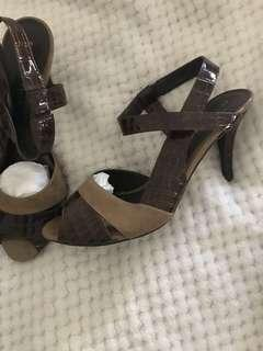 Charles & Keith ladies shoes, size 38 worn twice