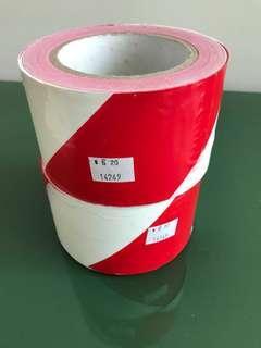 Red/White warning tapes