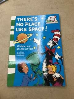 Dr suess - theres no place like space