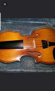 Violin Handmade Violin,student Grade From Local Maker. Size 1/4