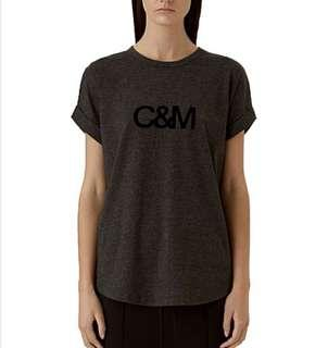 C&M Camilla and Marc Roll Sleeve Tee