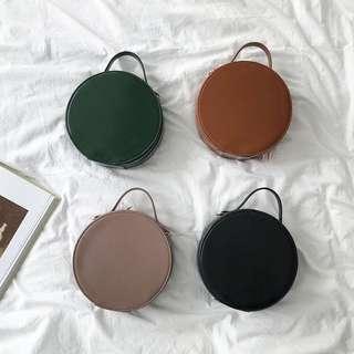 [PO] Sling shoulder round bag