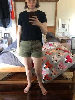 Zara T-shirt sheer back