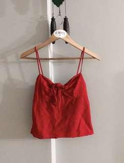 $20 SALE // Brandy Melville Sasha top in red