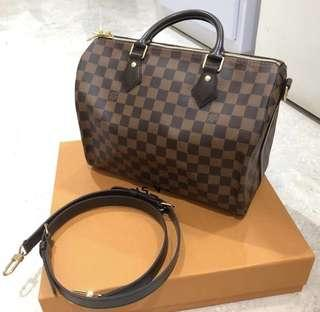 Louis Vuitton Speedy Bandouliere Damier 30