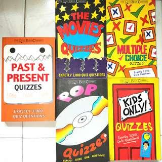 The Quiz Book Company, Exactly 3,000 Quiz Questions