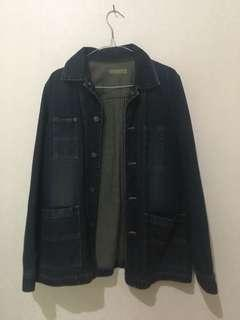 Jaket Jeans Long Vintage