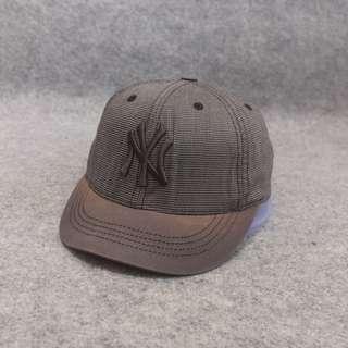 Topi MLB New York Osfa Dark Grey Second Original