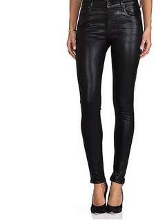 NWT Citizen Jeans Rocket High Rise Coated Skinny Size 26