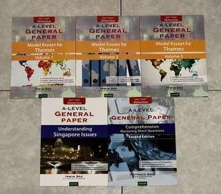 [Bundle] Get That Distinction: A Level General Paper Books