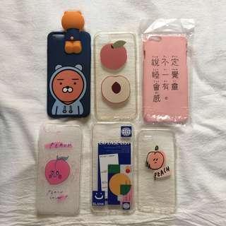 🚚 iPhone 6plus i6plus 手機殼 韓國 桃子 設計款 ryan