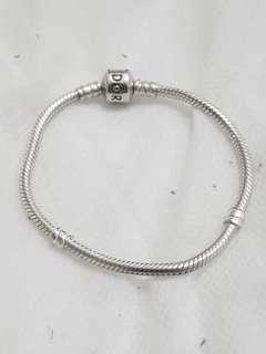 Size 17 pandora bracelet