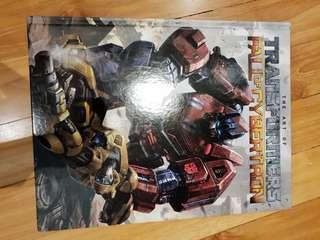 Transformers art book war for cybertron prime bumblebee xbox ps