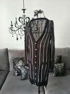 NEW! Stripe Long Cardigan