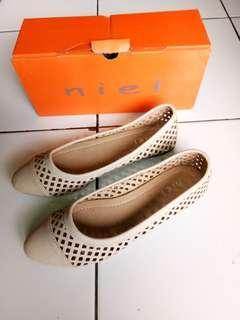 NIEL flat shoes cream