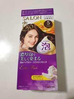Pewarna rambut foam asli jepang TALIA DARIYA SALON DE PRO