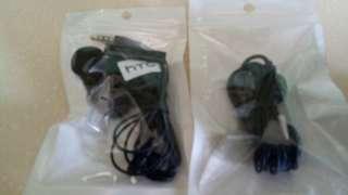 brand new HTC metal earpiece.