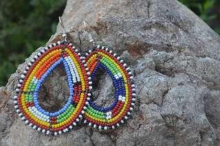Afrix Beaded Earrings