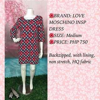 Love Moschino Inspired dress