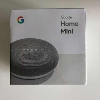 Google Mini Charcoal New unopened