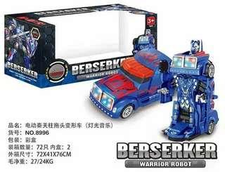 Transformer robot car toy