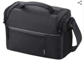 (全新) Sony 相機袋 單反斜咩袋 α專用外影袋 - LCS-SL20