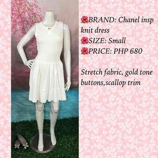CHANEL INSP KNIT DRESS