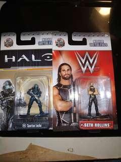 Jada nano metalfigs HALO/WWE