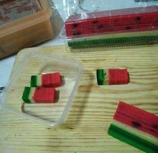 Kek Lapis Watermelon