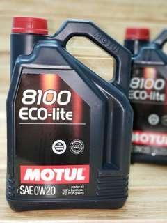 Motul 8100 ECO 0W20全合成機油偈油