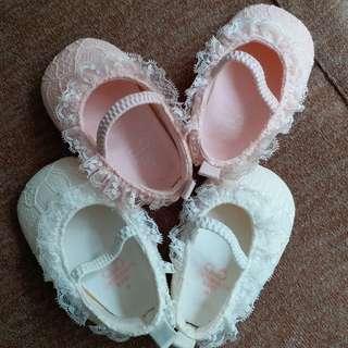 嬰兒鞋(chickeeduck)2對$38