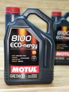 Motul 8100 ECO 5W30全合成機油偈油