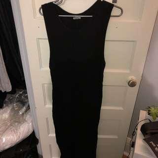 Bodycon thigh split BRANDY MELVILLE dress