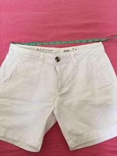 Sonoma white short