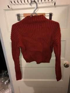 Guess cropped warm sweater