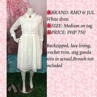 RMO & JUL WHITE DRESS