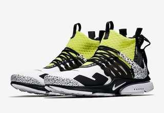 Nike X Acronym Presto Dynamic Yellow