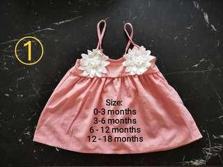 Brand New Collection Cute Baby Girl Dress 3 mth to 2.5 yr