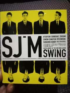"Preloved Super Junior M ""Swing"" Album with Zhoumi photocard"