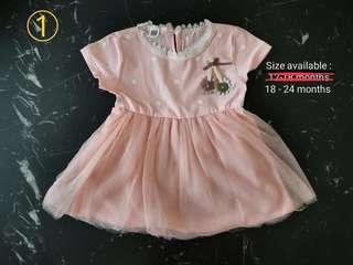 Brand new collection of baby girl dresses