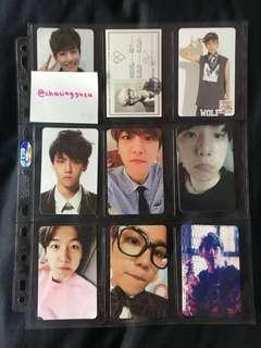 WTS FAST EXO Official Photocards
