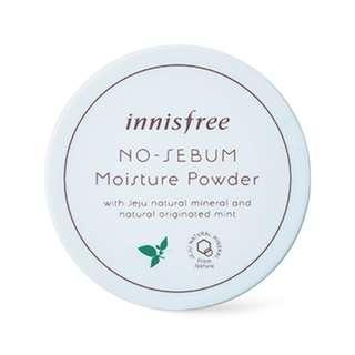 🚚 INNISFREE No-Sebum Moisture Powder